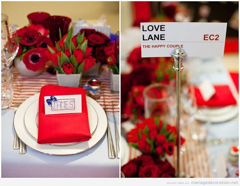 Idées décorer un mariage, british style