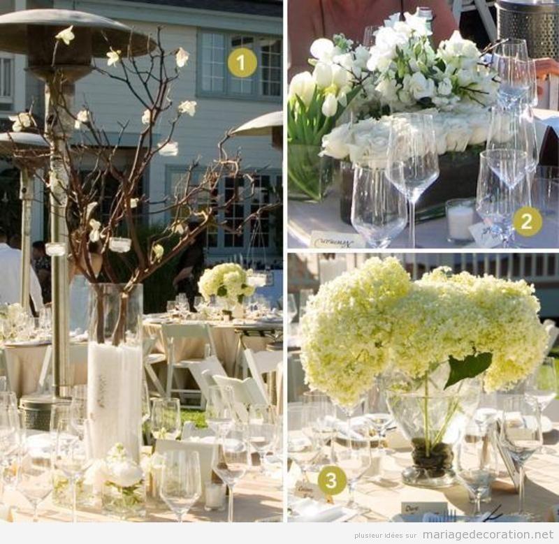 Idées pour décorer un centre de table mariage
