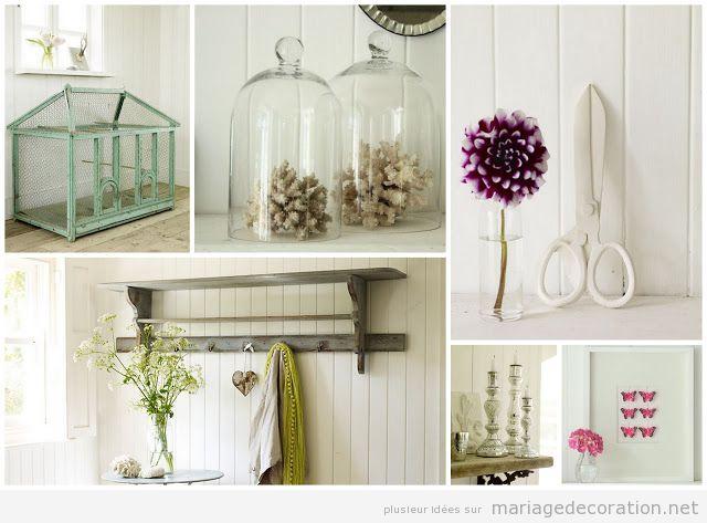 Idées déco mariage vintage et minimaliste