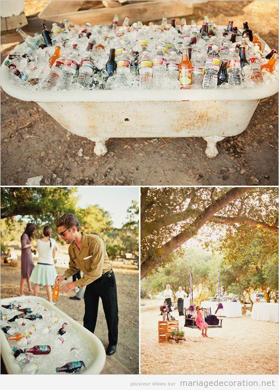 Mariage jardin d coration mariage site dedi donner - Decoration originale pas cher ...
