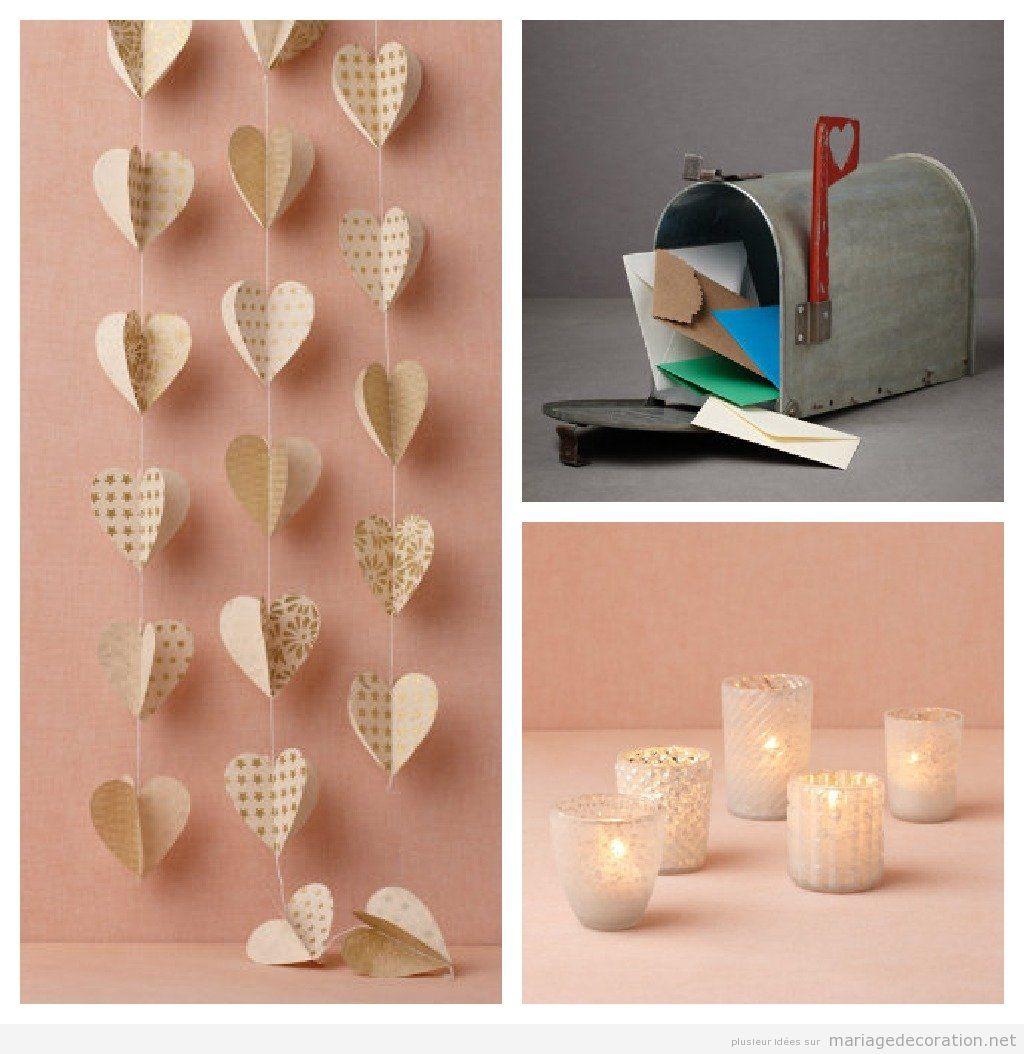 Idées déco mariage, mariage pas cher, décoration de tables - Part ...