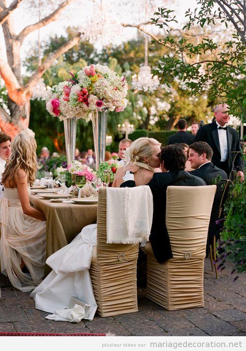 Idees pour décorer un mariage intime et familier au jardin