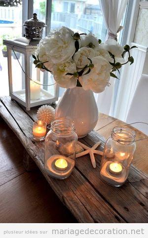 Idées décorer mariage pas cher à côte de la plage or la mer