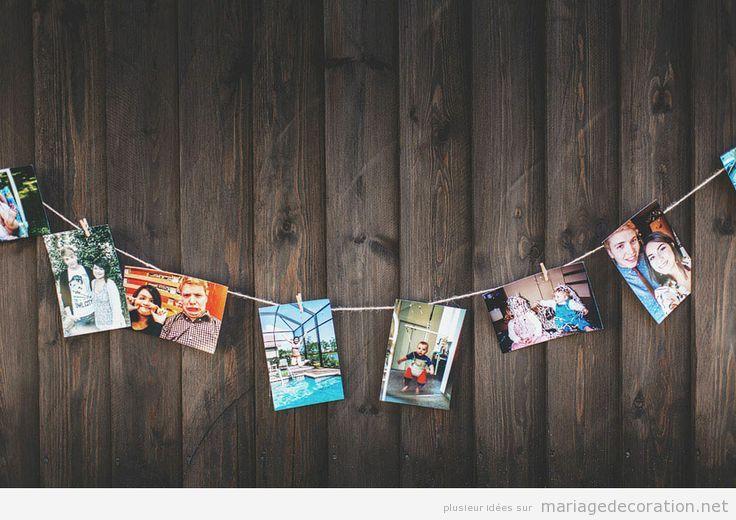 Idées pour décorer un mariage pas cher, photos des mariés