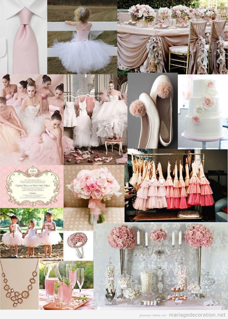 Détails et inspiration pour décorer un mariage en rose