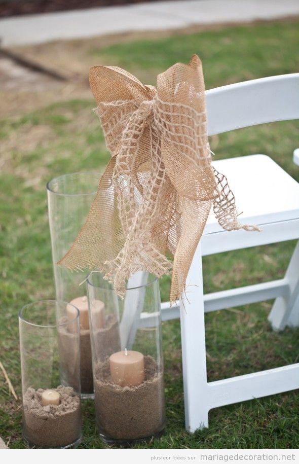 Idée déco mariage par cher au jardin