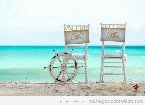 Idees Decoration Mariage Plage : Idées pour décorer un mariage sur la plage décoration