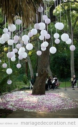Arbres d coration mariage site dedi donner des id es pour d corer mariages for Idee deco theme jardin