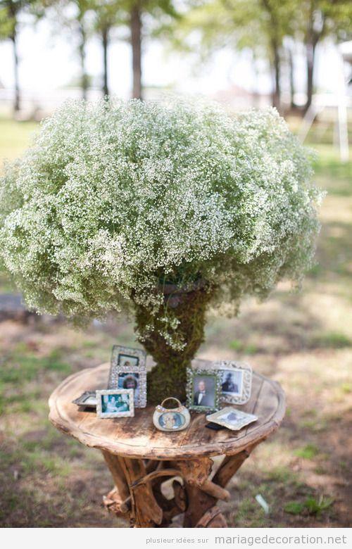 idées déco mariage jardin vintage, portraits familiers