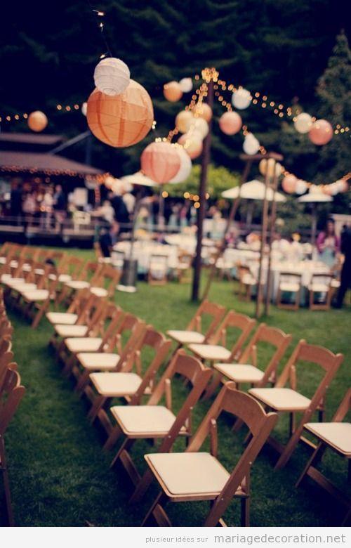 Idées déco mariage jardin