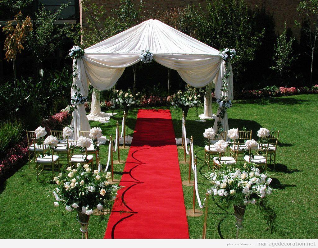 Stunning Decoration Jardin Pour Mariage Gallery - Design Trends ...