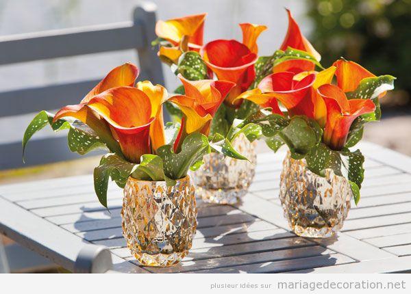 Idées centre table mariage, fleurs automne 3