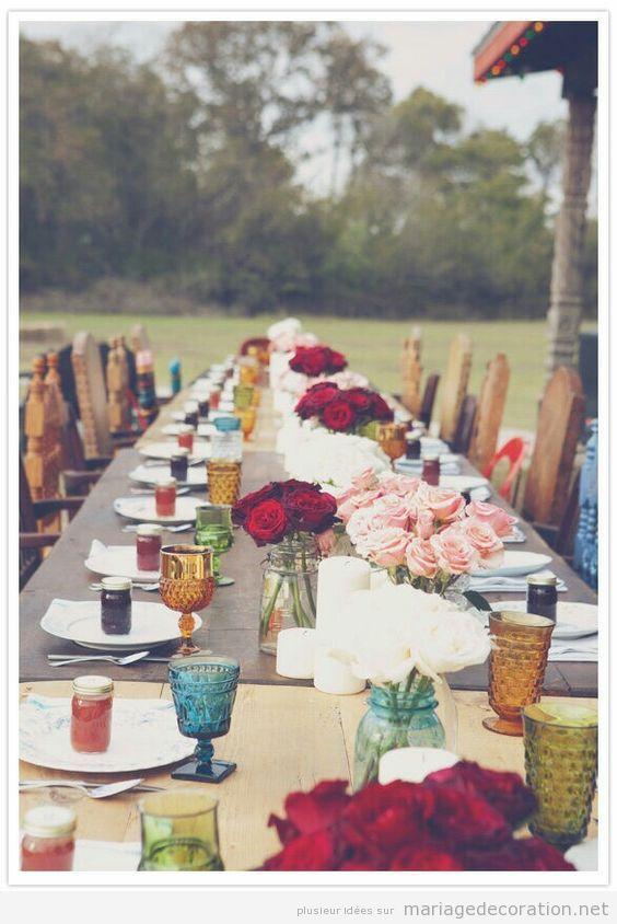 Idées décoration mariage style hippie et boho 2