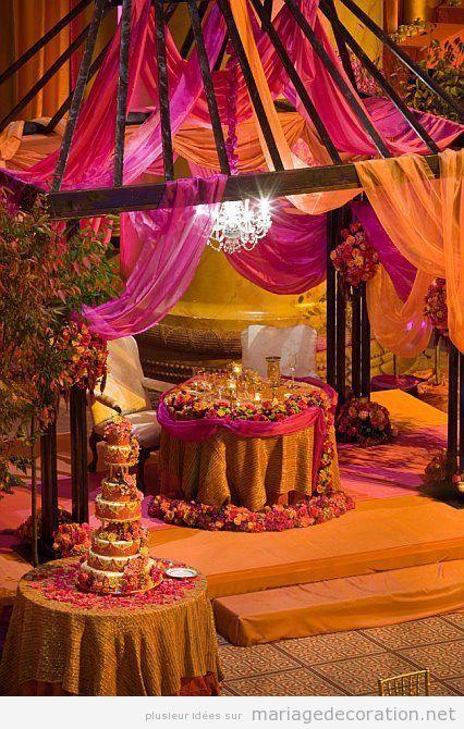 Décoration de mariage style arabe 5