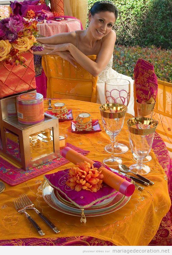 Décoration de mariage style arabe 4