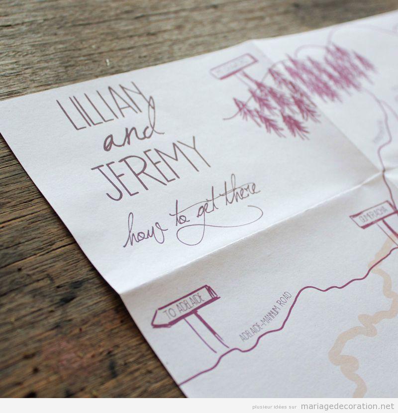 Invitation mariage écrite à la main, calligraphie jolie 4