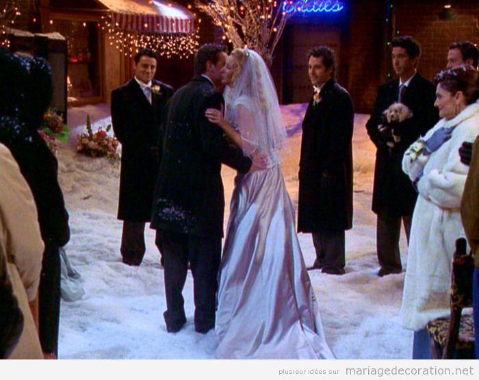 Idées célebrer et décorer céremonie de mariage sur la neige 6