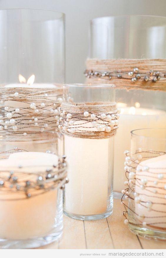 Idées décoration de table de mariage en hiver 6