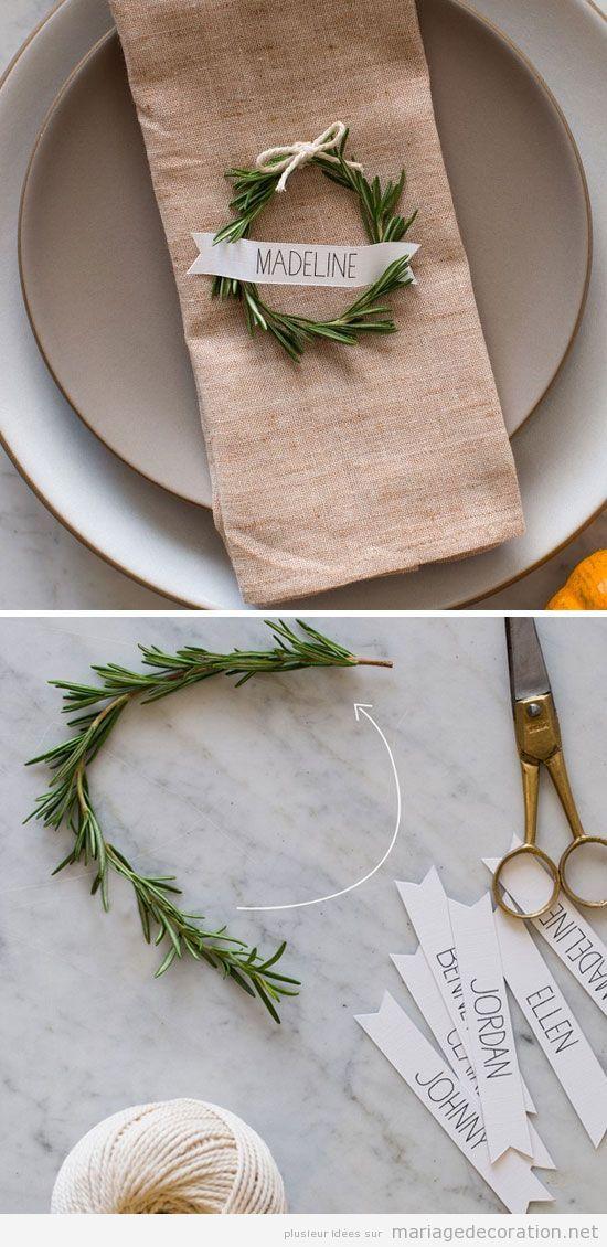 Idées décoration de table de mariage en hiver 2