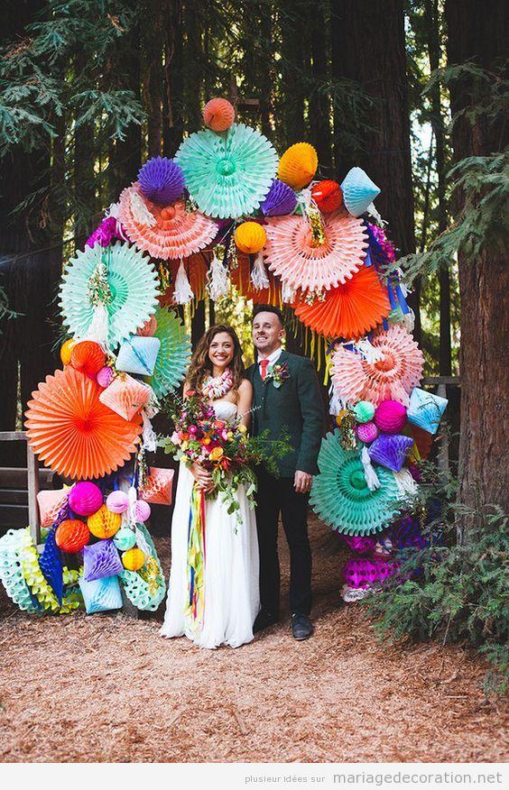 Décoration mariage mexicain, autel