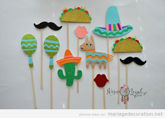 Décoration mariage mexicain, fête