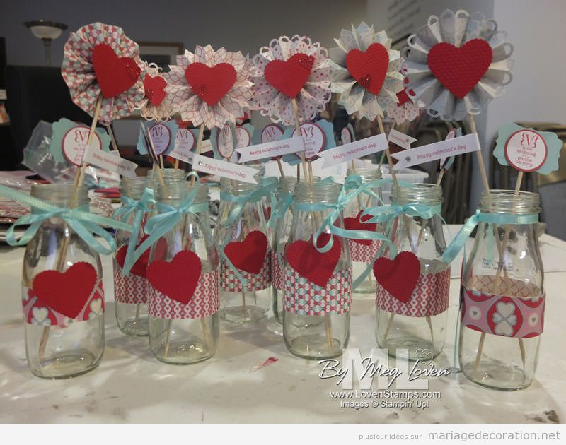 Décoration mariage avec coeurs pour le Saint Valentin 9