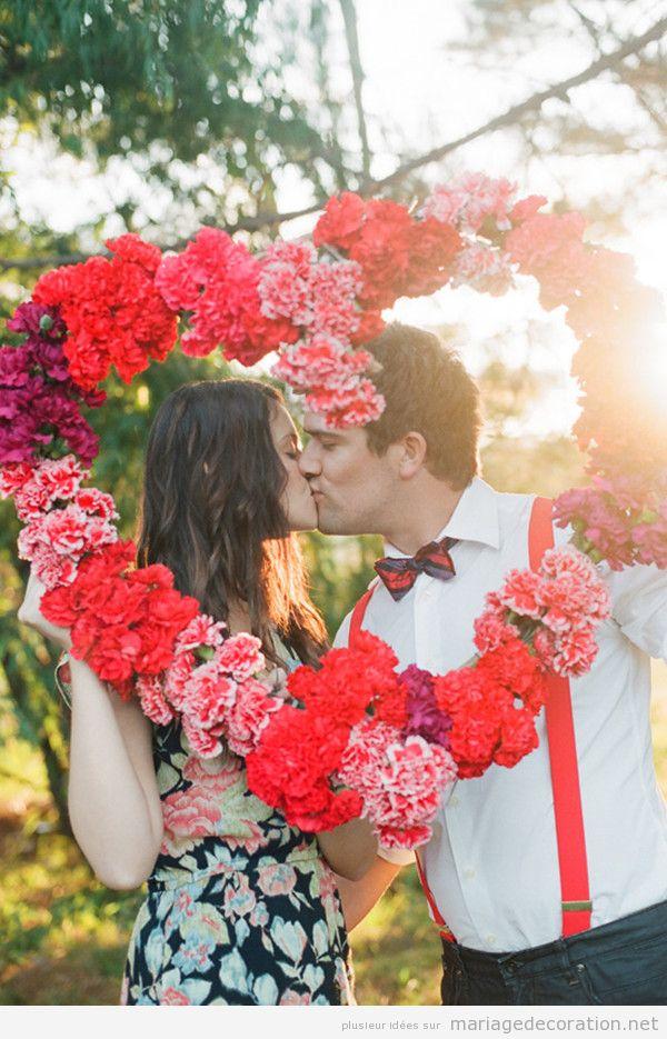 Décoration mariage avec coeurs pour le Saint Valentin 2