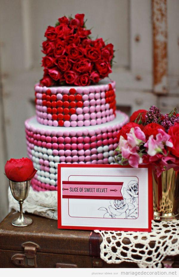 Décoration mariage avec coeurs pour le Saint Valentin 3