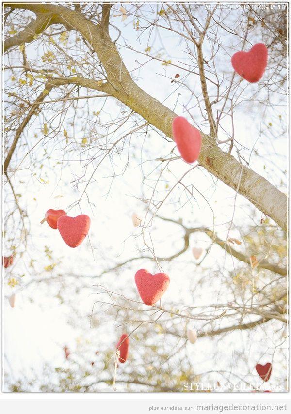 Décoration mariage avec coeurs pour le Saint Valentin 4
