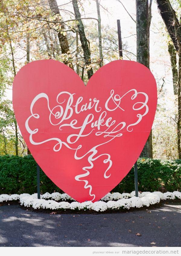 Décoration mariage avec coeurs pour le Saint Valentin 5