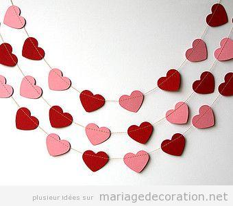 Décoration mariage avec coeurs pour le Saint Valentin 6