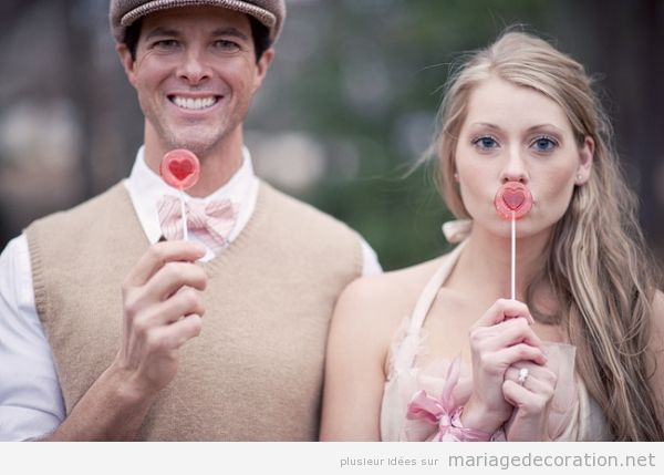 Décoration mariage avec coeurs pour le Saint Valentin 8
