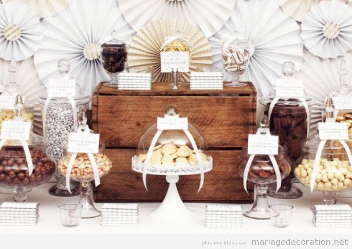 Décoration mariage avec chocolate 3