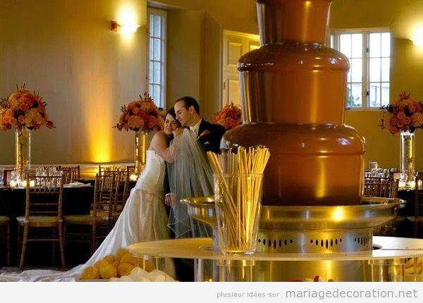 Décoration mariage avec chocolate 7