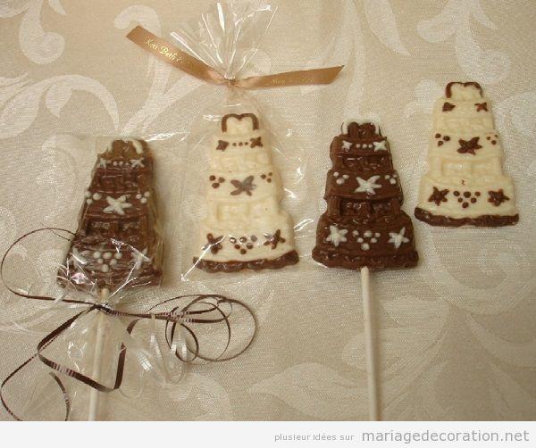 Décoration mariage avec chocolate