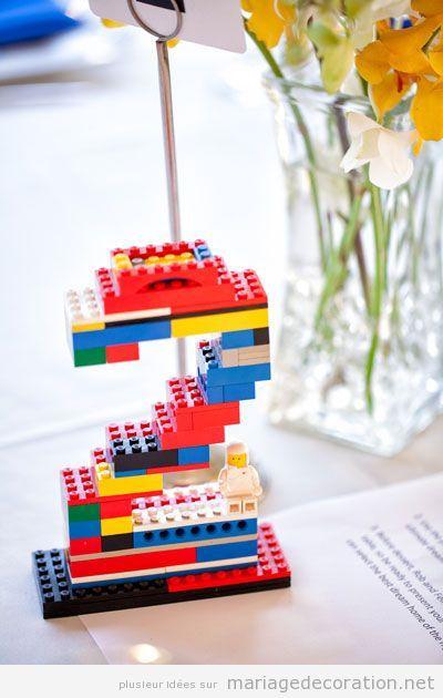 Déco mariage Lego 3