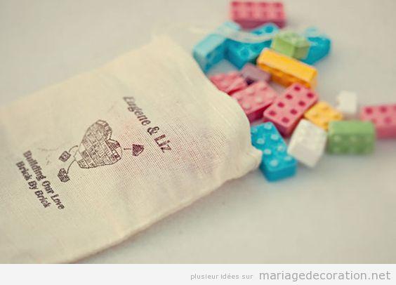 Déco mariage Lego 2