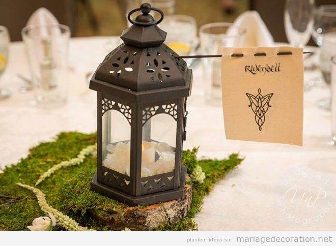 Déco mariage Lord of the Rings