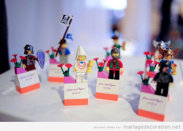 Déco mariage Lego