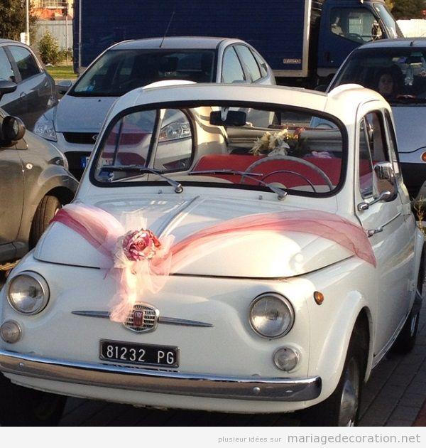 Déco mariage voiture vintage 4
