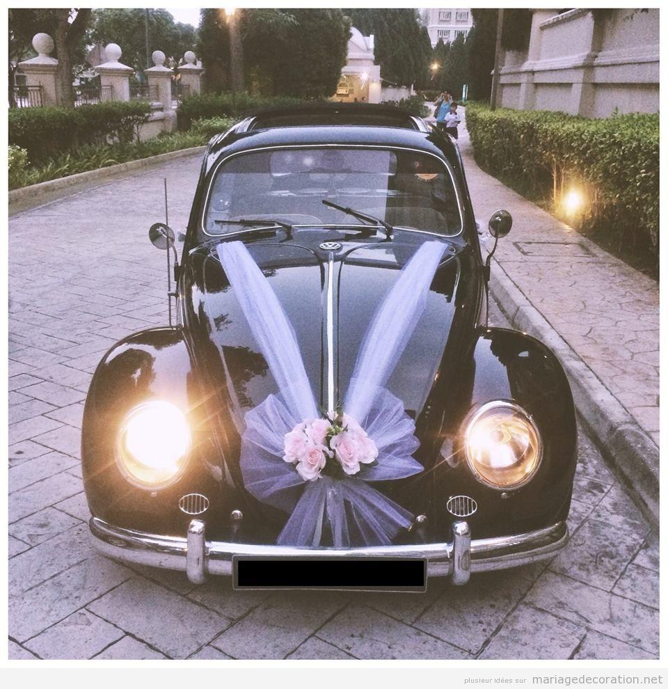 Déco mariage voiture vintage 14
