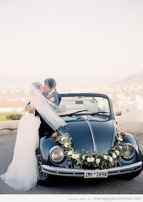 Déco mariage voiture vintage 15