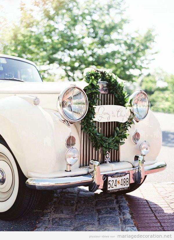 Déco mariage voiture vintage 3