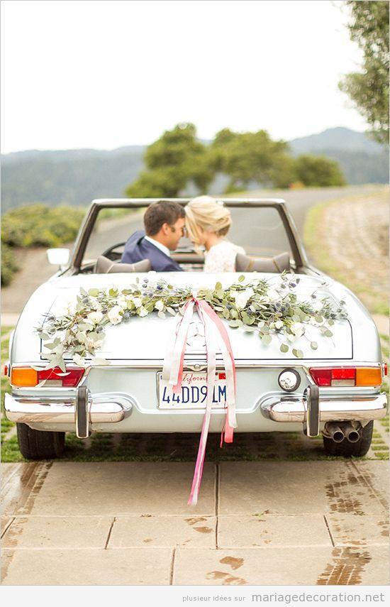 Déco mariage voiture vintage 5