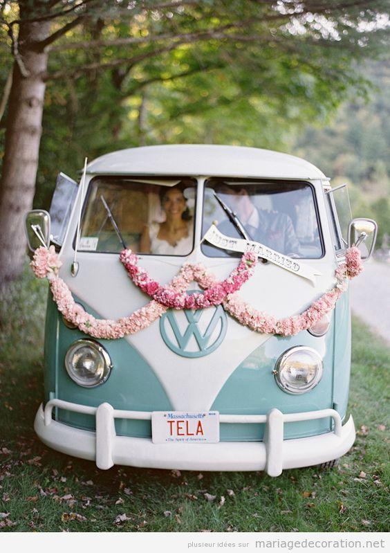 Déco mariage voiture vintage 6
