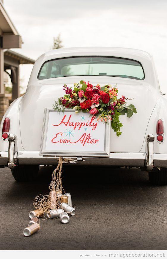 Déco mariage voiture vintage 7