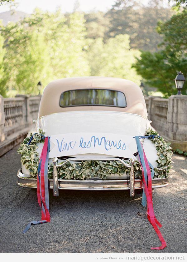 Déco mariage voiture vintage 9
