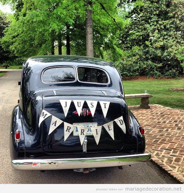 Déco mariage voiture vintage 11