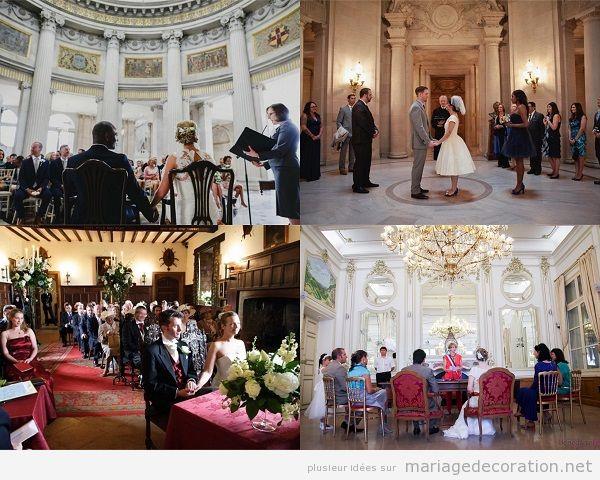 Décoration mariage civil à la mairie 2