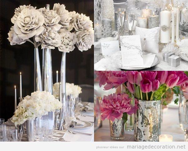 Tendandes décoration mariage 2018 chrome